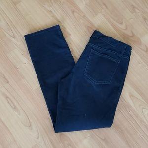 Gap limited edition black straight leg jeans